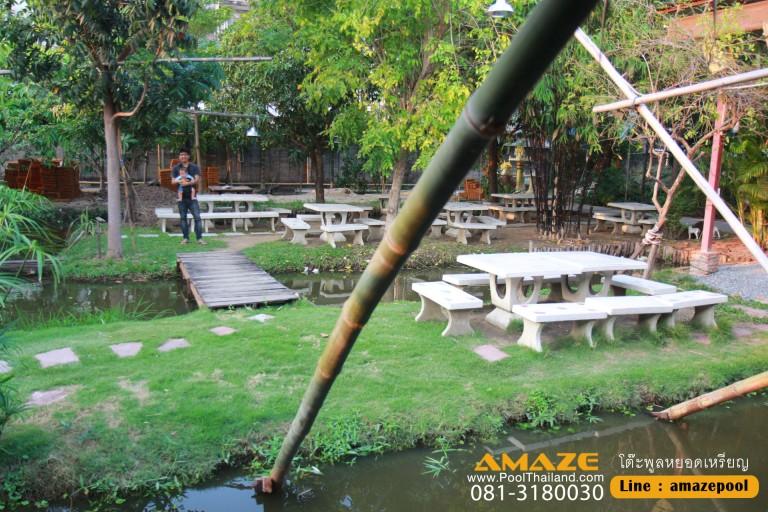 ครัวบ้านสวน กรุงธนบุรี4_ร้านอาหารย่านสาทร ต้องมา !! มีโต๊ะพูลด้วยนะค้า