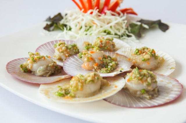 ไลน์อาหาร ของร้าน ตำยำเผา กุ้ง หอย ปู ปลา ซดสด