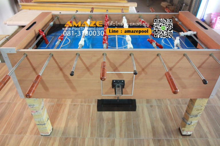 goaltable-pooltable ทีมงาน poolthailand โต๊ะโกล์หยอดเหรียญ 081-3180030 Line : amazepool